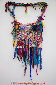 Amazing Multi Coloured Gypsy/Hippy Ragged and by RagsForGypsies