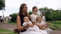 "Sweden's Princess Madeleine & Crown Princess Victoria w/ Their daughters, Princesses Leonor & Estelle | The Swedish Royal Family | ""The Royal Watcher"" This is a blog created by & for royal watchers. We post pictures, news & cool facts about royal families around the world."