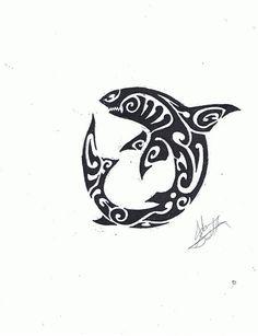 traditional polynesian shark art - Google Search