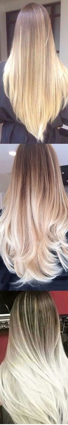 Brown To Blonde Ombre Balayage