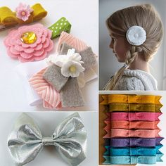 4 amazing Etsy vendors for little girls' hair bows and clips