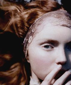 Lily Cole by Sophie Delaporte in Vogue Nippon