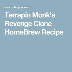 Terrapin Monk's Revenge Clone HomeBrew Recipe