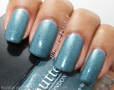 By Refined & Polished. #butterlondon #teal #nailpolish @Bloom.com