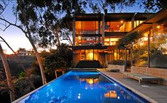 Luxury Glass Home in Los Angeles with valley views, for sale for $4500000