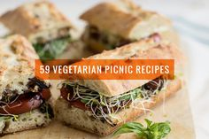 59 Vegetarian Recipes That Are Perfect for a Picnic