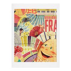 MIK Frank Art Print | DENY Designs Home Accessories
