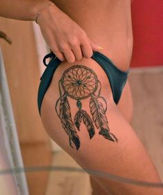 tatuajes atrapasueños indios para mujer