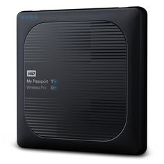 High-capacity, wireless mobile storage, My Passport Wireless Pro portable wireless hard drive helps professional photographers and videographers easily streamline the creative workflow.