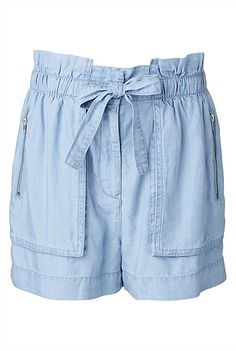 Inspiration for Oliver+S Sandbox shorts all in chambray