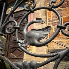 Goose, griffin, or dragon? I found this guy a charming welcome up the steps of a church in Kassel, Germany. The church had such a lovely exterior, and the wedding ceremony that we attended was beautiful. #germany #kassel #church #wedding #travel #wanderlust #travelblogger #travelblog #explore #seetheworld #travelphotgraphy #traveladdict #travelgram #traveler #igdaily #lovetotravel #traveldiary #architecture #europe #summervacation #travelthrowback #throwbackthursday