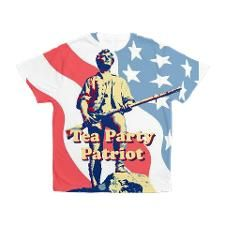 Tea Party Patriot Men's All Over Print T-Shirt for