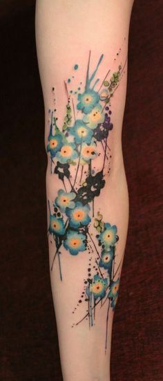 forget me not tattoo - Google Search