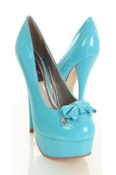 baby blue heels (purchased)