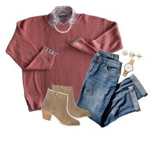 """""""Fall"""" by perfectgabby ❤ liked on Polyvore featuring J.Crew, J.Jill, Tory Burch, Lord & Taylor and Kate Spade"""