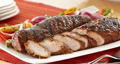Grilled Sweet and Savory Pork Loin