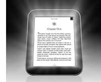 Nook Simple Touch with GlowLight - e-ink with front light. Um, built-in light for middle of the night feedings (and a lighter Nook than the one I have)? Yes please!