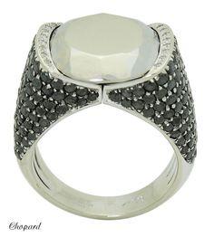 Chopard Golden Diamonds 18k White Gold & 3.67 TCW Diamond Ring R701 #Chopard