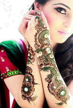 Bridal Stylish Henna Mehndi Designs for Most Girls Pakistani Henna Designs, Latest Mehndi Designs, Mehndi Designs For Hands, Henna Tattoo Designs, Bridal Mehndi Designs, Bridal Henna, Tattoo Ideas, Pakistani Mehndi, Hand Mehndi