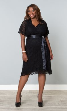 362300fdb39 Add a vintage flair to your special occasion with our plus size Retro Glam  Lace Dress