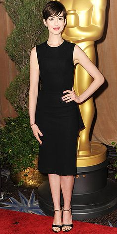 We'll take one of everything you have on here, Anne Hathaway