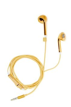 Hear No Evil Earbuds - Gold