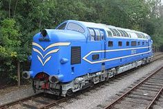 English Electric commonly known as Deltic, was a prototype hp demonstrator locomotive employing two Napier Deltic engines, built by English Electric in Electric Locomotive, Diesel Locomotive, Railroad Pictures, Train Service, Train Art, Electric Train, British Rail, Uk Images, Old Trains