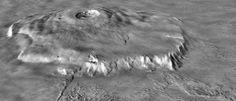 Астрономия для детей: Олимп — высочайшая гора в Солнечной системе