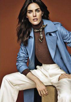 Black Turtleneck Outfit, Vanity Fair Italia, Jason Kim, Hilary Rhoda, Mode Editorials, Casual Chic Style, Models, Colorful Fashion, Autumn Winter Fashion