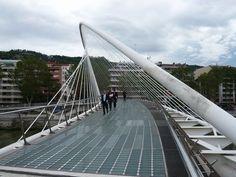 Pedestrian Bridge | Bilbao - Zubizuri pedestrian bridge