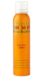 On the to-try list.  Cantu Flat Iron Spray