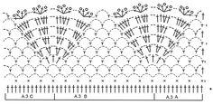 """Elvira / DROPS 168-11 - Top DROPS en ganchillo con aplicaciones, en """"Belle"""". Talla: S-XXL. - Free pattern by DROPS Design"""
