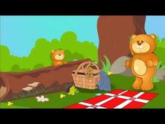 Watch and sing along to the Teddy Bear Picnic video for children.