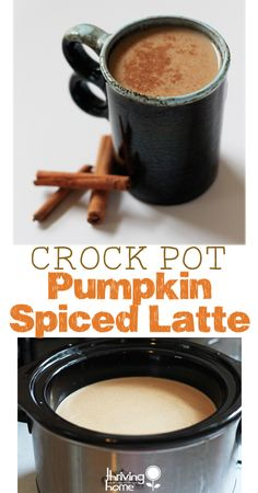 Pumpkin Spiced Latte - Crock Pot