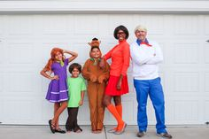 Check out these Scooby Doo Family Costumes and all the sources and tips to create your own Scooby Doo Gang!