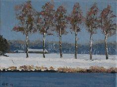 Snow (by Gineke Zikken) 18 x 24 cm