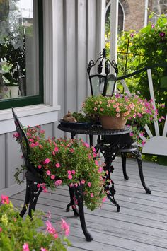 Wrought Iron Accents