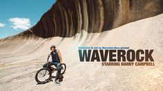 Wave Rock by mb! by Mercedes-Benz. A film by InfinityList (www.InfinityList.com) and mb! by Mercedes-Benz Magazine. 23-year old BMX rider Danny Campbell tested his skills where no one had dared before: on the aptly named Wave Rock – a giant natural half-pipe in the vast Australian Outback.
