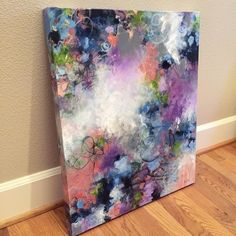 """2,603 Likes, 26 Comments - Paulette Insall Abstract Art (@pauletteinsall) on Instagram: """"""""Echoes of Eden"""" SOLD Remember to like + follow @pauletteinsall """" #artpainting"""