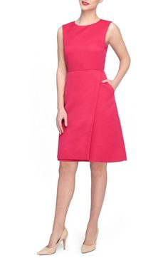 Tahari 'Faille' Shift Dress (Regular & Petite) available at #Nordstrom