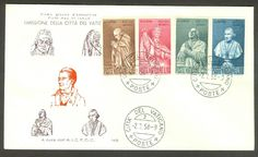 Vatican City Sc# 243-6: Birth of Antonio Canova on FDC | eBay