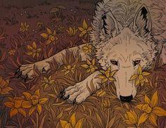 narciso All Over Graphic Tee by DanielaMV - Medium Anime Lobo, Animal Drawings, Art Drawings, Arte Obscura, Pretty Art, Mythical Creatures, Aesthetic Art, Dark Art, Art Inspo