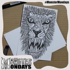 It is a _____? I am sure you can see it now...Create Art Raise Awareness and manage your monsters! #MonsterMondays #monster #drawing #penandink #art #instaart #instaartist #artist #mentalhealth #mentalhealthawareness #anger #illustration #wip #lion #graphic #anxiety #depression #smashthestigma #stigmafighter #suicideawareness #mentalhealthmatters #recoveryispossible #mentalhealthrecovery  http://ow.ly/Up1Oj