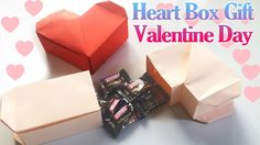 How to Make an Origami Valentine's Day Heart Box   Paper Heart Gift Box ...