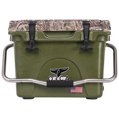 ORCA 26 QUART GREEN/REALTREE MAX 5 CAMO COOLER - MADE IN USA, FREE SHIPPING!!! #OrcaCoolers