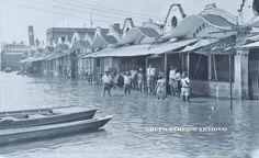 Los Mercados durante la inundación de 1933