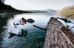 Tahoe Trash the Dress - Lauren Lindley Photography