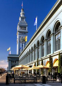 { SF Ferry Building Marketplace }