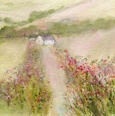 Berry hedgerow by Sue Fenlon