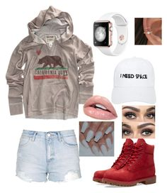"""""""ready for the weekend"""" by baconkat ❤ liked on Polyvore featuring Billabong, Topshop, Timberland and NASASEASONS"""